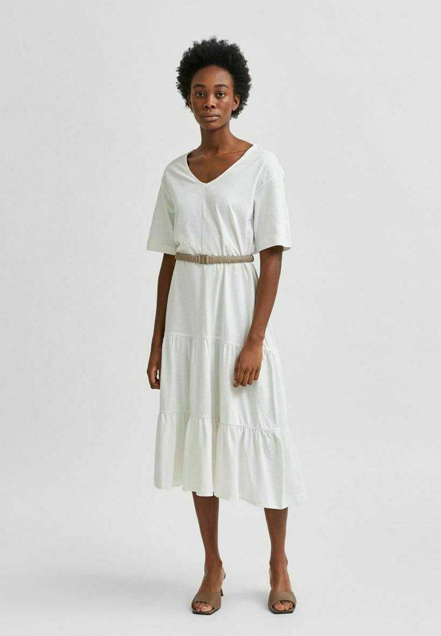 Korte jurk - snow white