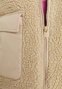 Noisy May - NMTANYA JACKET - Light jacket - beige - 3