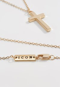 Icon Brand - CROSS TOWN NECKLACE - Collana - gold-coloured - 3
