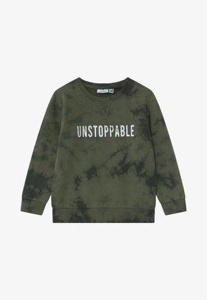 NMMNOLGO - Sweatshirt - thyme