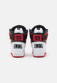 Ewing - Baskets montantes - white/chinese red/black - 4