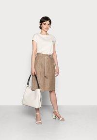 Opus - RAILA - A-line skirt - maple - 1