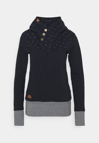 LUCIE - Long sleeved top - navy