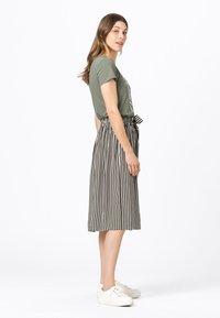 HALLHUBER - A-line skirt - fango - 1