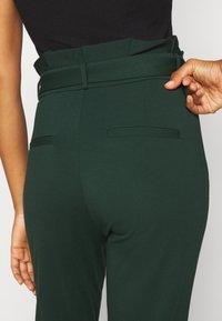Vero Moda Tall - VMEVA PAPERBAG PANT - Trousers - pine grove - 6