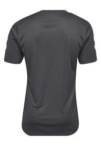 Hummel - CORE - Print T-shirt - asphalt - 1