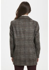 Soaked in Luxury - JILLIAN - Short coat - black/brown/cream - 4