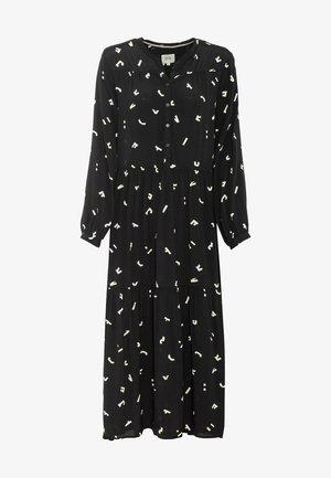 Maxi dress - aop black
