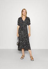 Diane von Furstenberg - ORLA DRESS - Maxi dress - black - 1