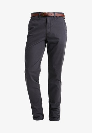 JJICODY JJSPENCER - Tygbyxor - dark grey