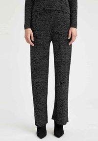 DeFacto - Trousers - black - 0