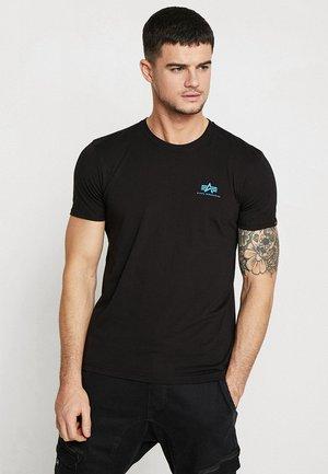 T-shirt imprimé - black/blue
