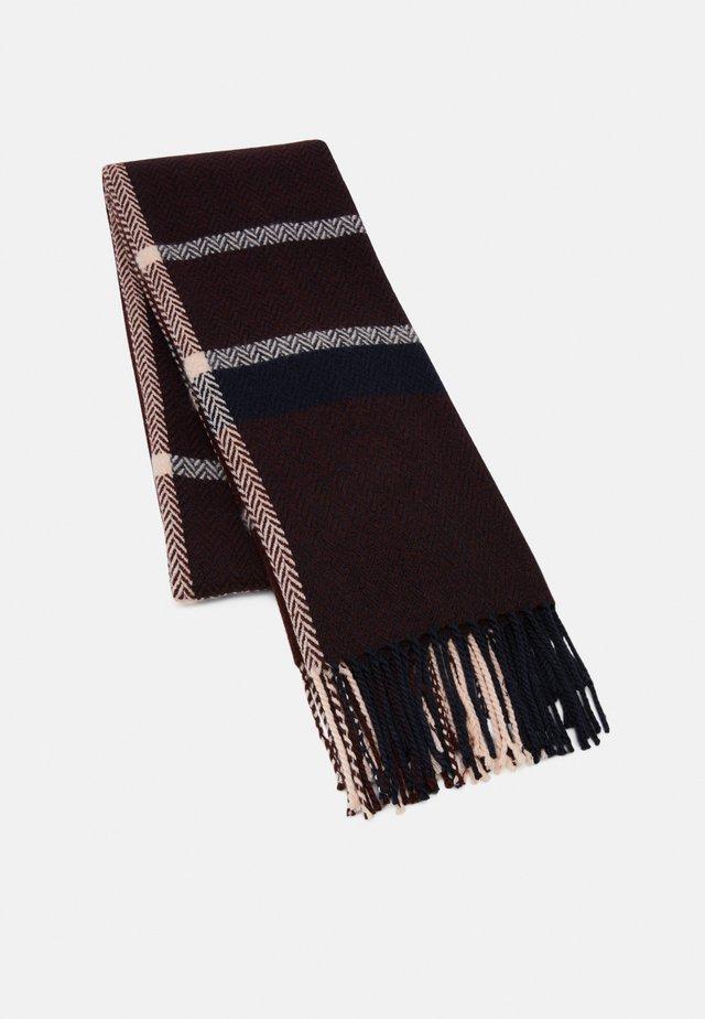 Sjaal - bordeaux