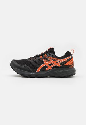 GEL SONOMA 6 GTX - Trail running shoes - black/marigold orange