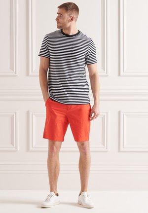 T-shirt basic - ice marl stripe