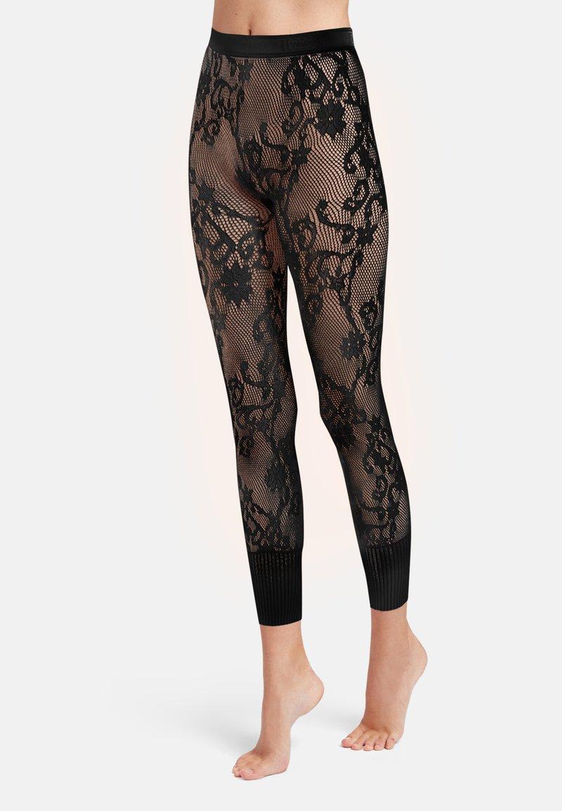 Wolford - Leggings - Stockings - black