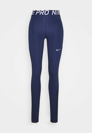 Leggings - binary blue/binary blue/white