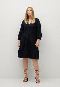 Violeta by Mango - Day dress - dunkles marineblau - 1