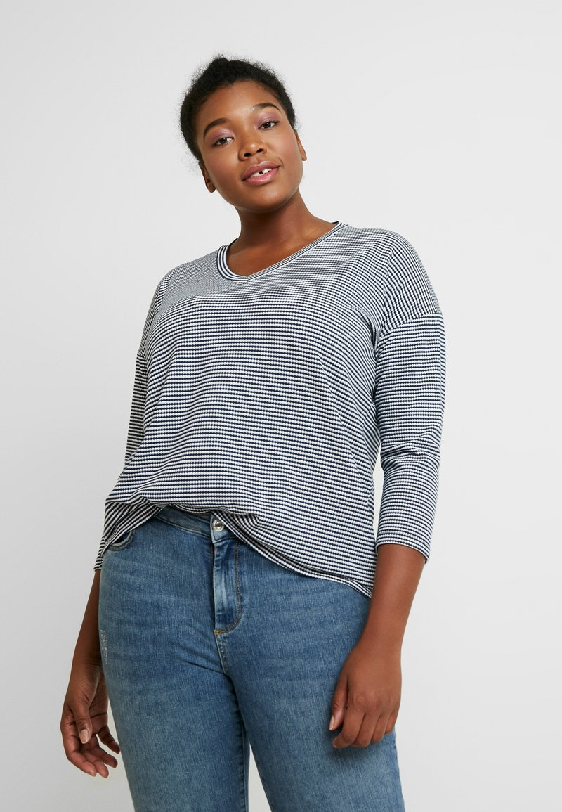Kaffe Curve - Long sleeved top - midnight marine
