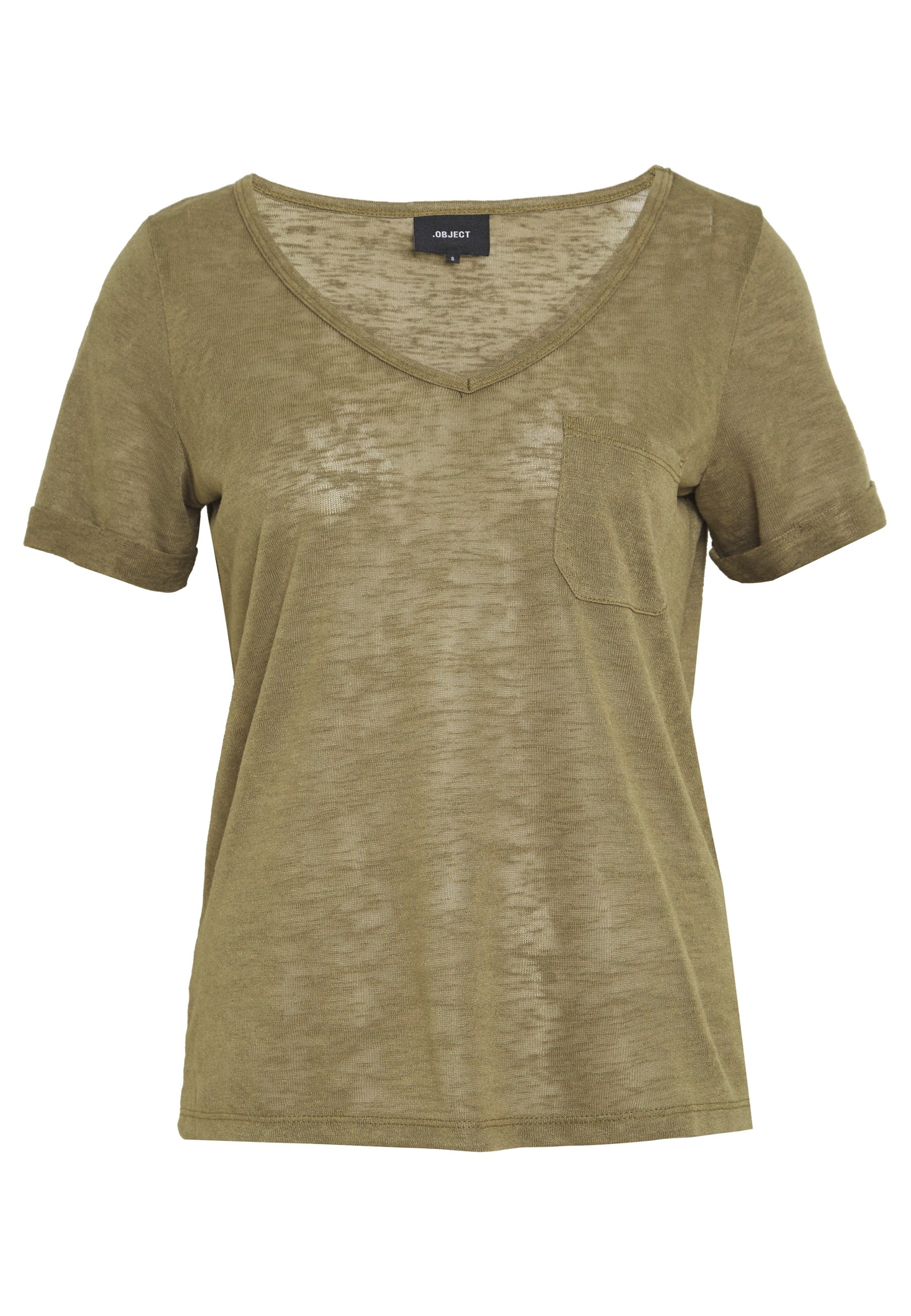 Object T-shirts - Burnt Olive/oliven