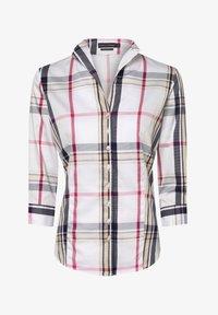 Franco Callegari - Button-down blouse - weiß marine - 3