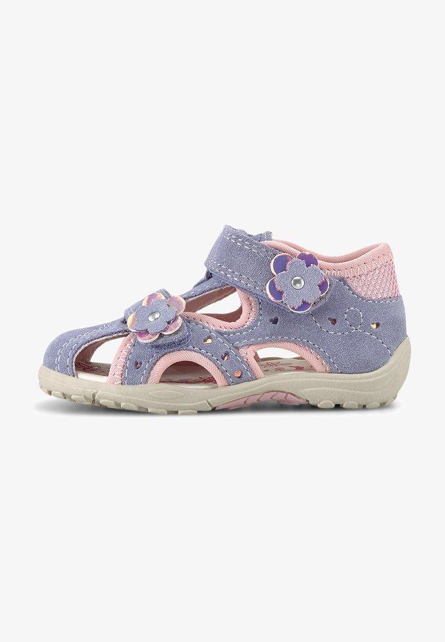 MOMO - Sandals - dunkellila