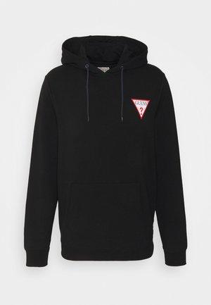 CHRISTIAN HOODIE - Sweatshirt - jet black