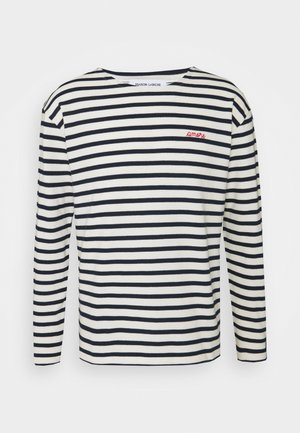 SAILOR TEE LSAMORE - Long sleeved top - ivory/navy