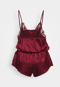 City Chic - STELLA PLAYSUIT - Pyjamas - burgundy - 1