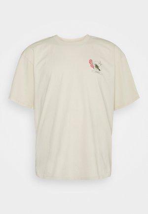 TAROT DECK - T-shirt med print - pelican/garment wash