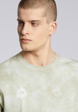 GOSTA - T-shirt z nadrukiem - light grey