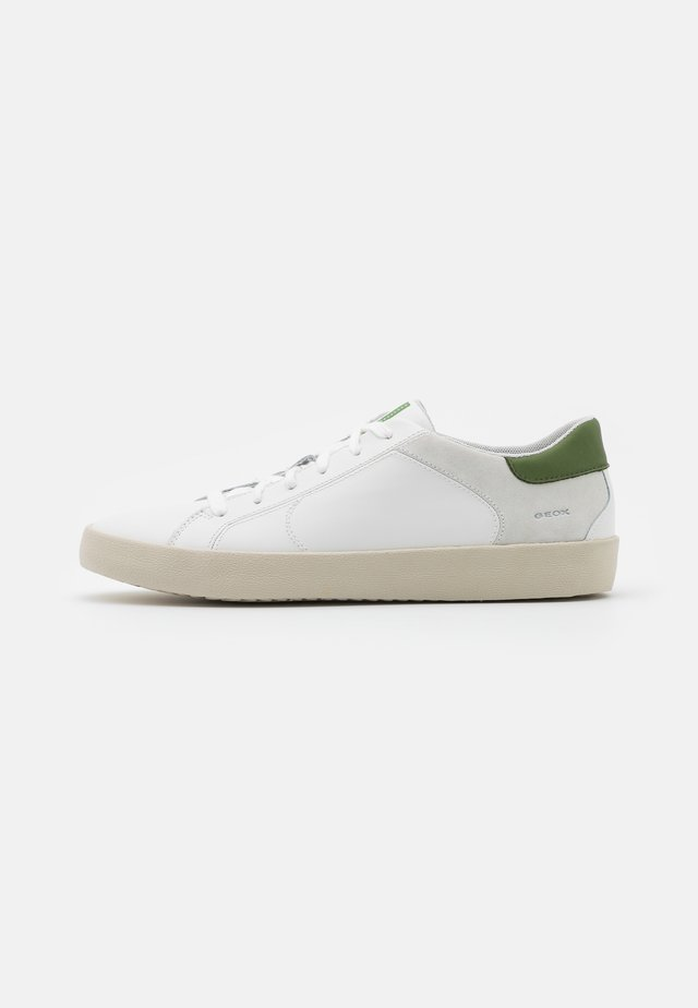 WARLEY - Sneakers basse - white/olive