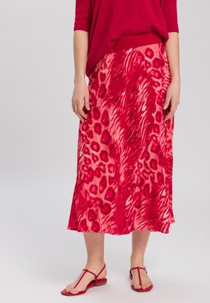 A-line skirt - red varied