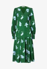 IVY & OAK - PUFFY DRESS MIDI - Day dress - green - 4