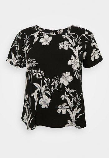 CARLUXINA - T-shirts med print - black