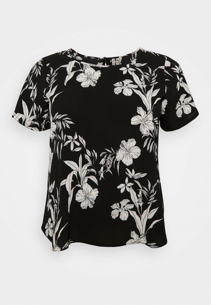 ONLY Carmakoma - CARLUXINA - Print T-shirt - black