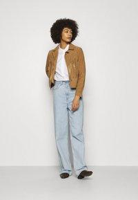 Oakwood - JANIS - Leather jacket - tan - 1