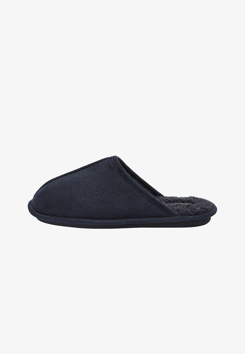 Next - Slippers - mottled royal blue