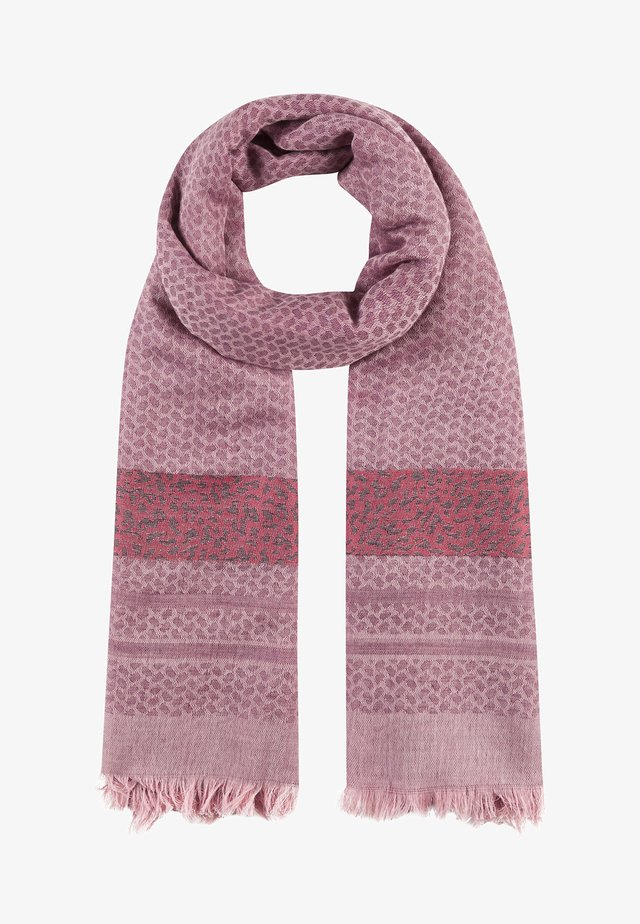 SOFTER OVERSIZED IM MUSTERMIX - Scarf - pink