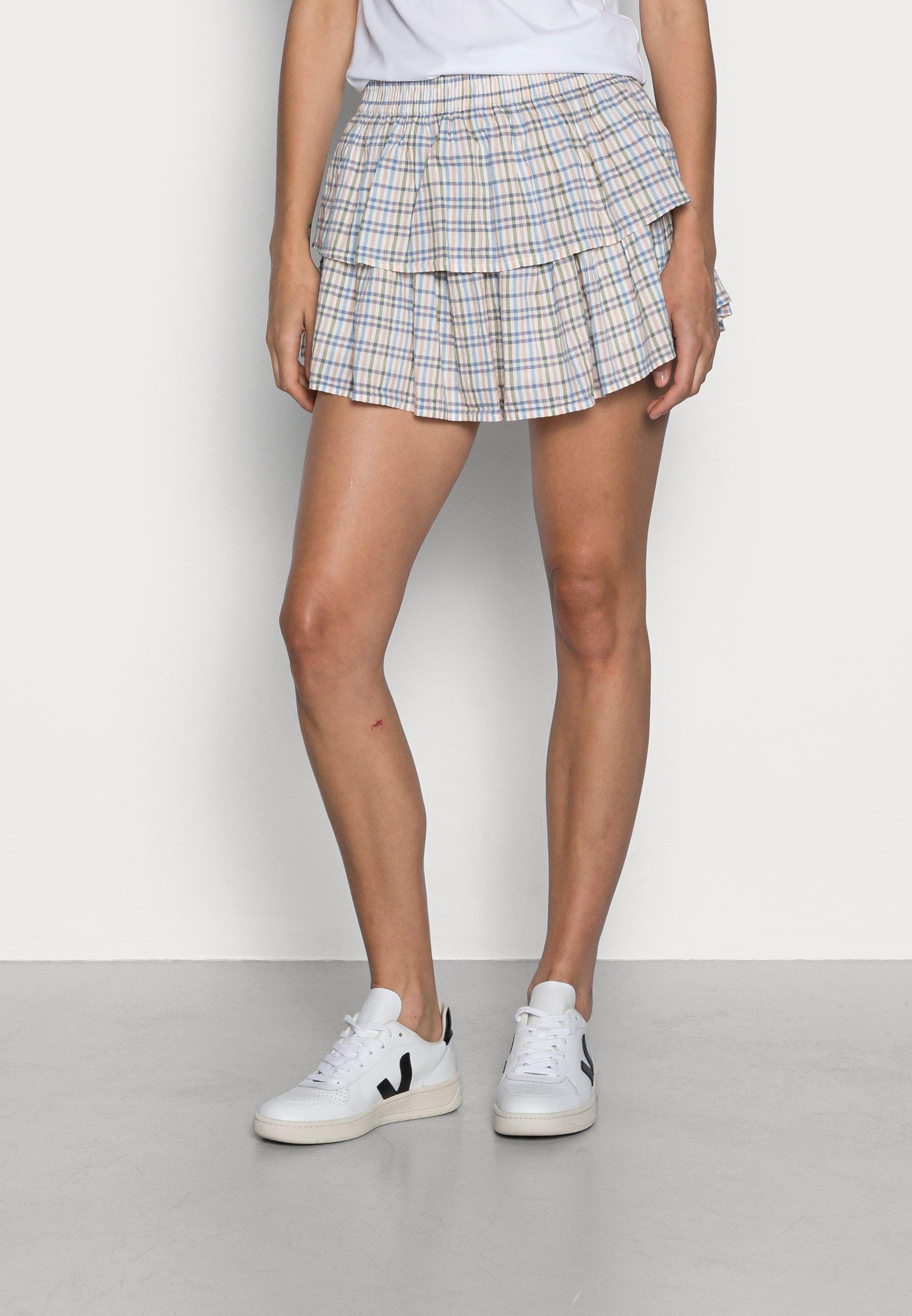 Femme PLAID SKIRT - Minijupe