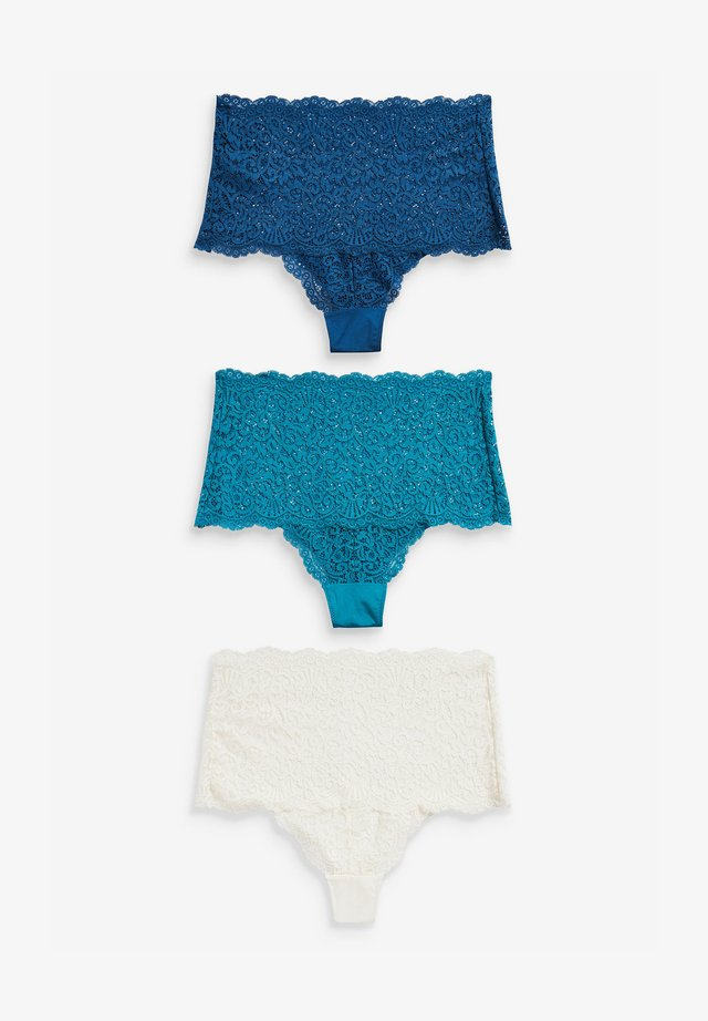 3PACK - Boxerky - teal