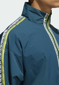 adidas Originals - TAPED ANORAK - Windbreaker - turquoise - 3