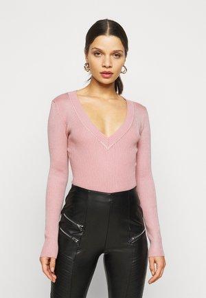 VNECK  - Pullover - pale pink