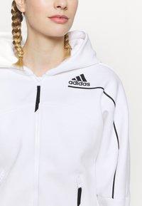 adidas Performance - ZNE - Sweatjakke - white - 5