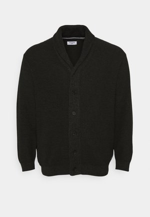 JJVINCE CARDIGAN - Strikjakke /Cardigans - forest night