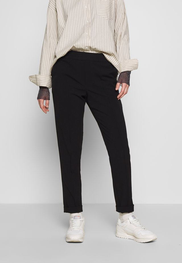 TROUSERS FARIN - Broek - black
