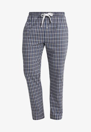 Pyjama bottoms - blue-dark-check