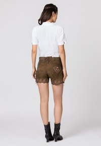 Stockerpoint - HARMONY - Leather trousers - brown - 2
