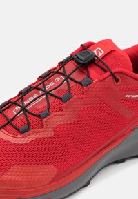 Salomon - SENSE RIDE 3 - Zapatillas de trail running - goji berry/lunar rock/red orange - 5