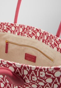 Escada Sport - CANVAS SHOPPER - Shopping bag - red - 3